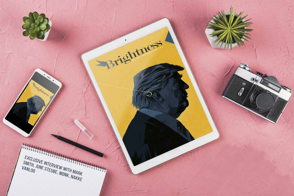 Brightness Magazine ADS